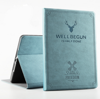 PU Leather Deer Case für iPad 10.2 7. Generation